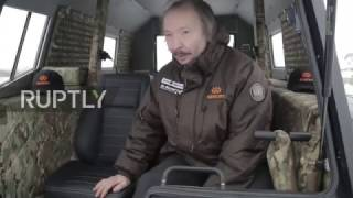 Russia: SHERP off-road vehicle begins longest on-land route on Earth