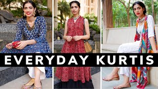 Kurtis for Work/ College | Unique and Stylish