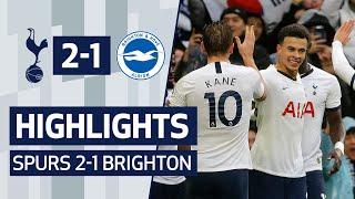 HIGHLIGHTS | SPURS 2-1 BRIGHTON | HARRY KANE & DELE ALLI SECURE COMEBACK WIN!