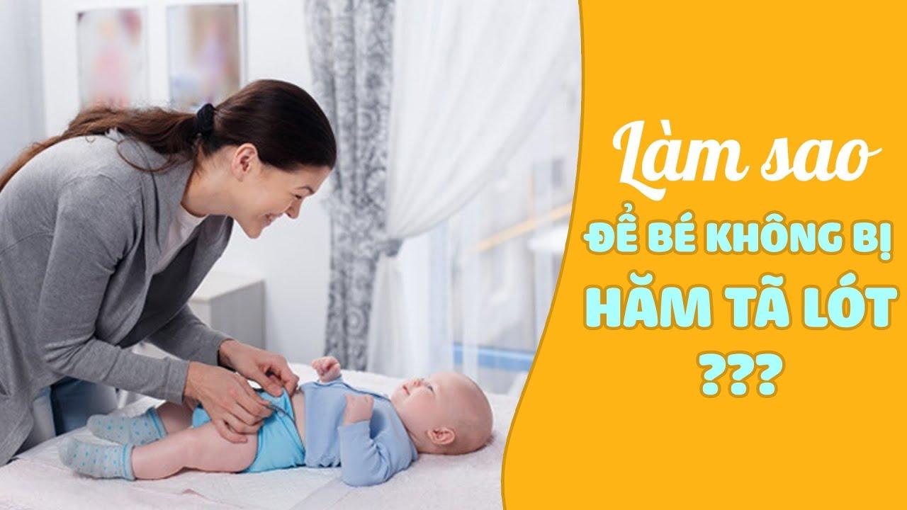Làm sao để bé không bị hăm tã lót?| BS Lê Thị Thu Hằng, Bệnh viện Vinmec Hải Phòng