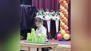 (은율아 놀자 ) 7살 은율이의 일상 ♡ 스피드 컵쌓기…