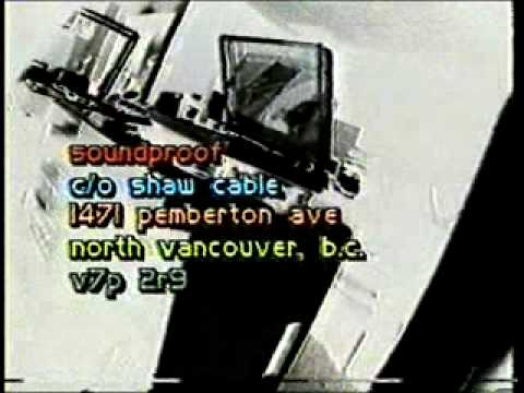 Soundproof - Alternative Music Videos in the 80s