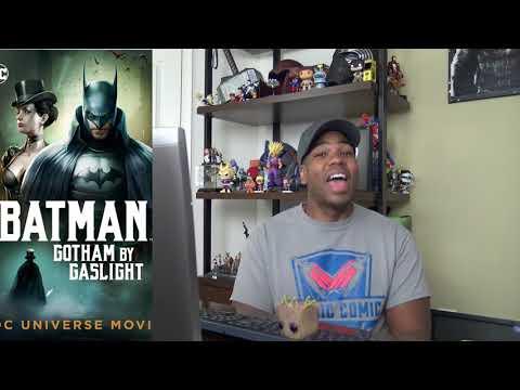 Gotham By Gaslight MOVIE REVIEW!!!