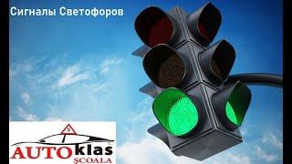 Глава 3 Сигналы светофоров Заключительный урок тест