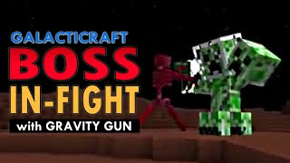 Minecraft - Galacticraft Boss In-Fight (Speed-Up)