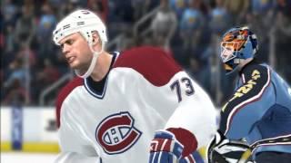 NHL 08 - Montreal vs. Atlanta - Superstar Difficulty - PS3