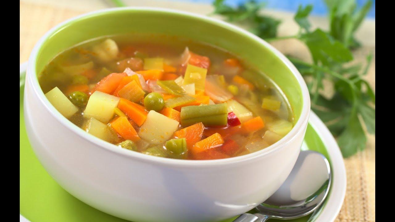 Como Hacer La Dieta De La Sopa Milagrosa Youtube