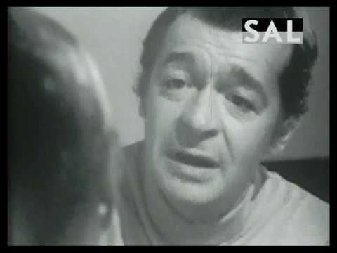 Serge Reggiani - Enivrez-vous - Poème de Baudelaire