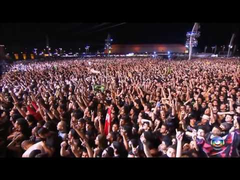 Metallica - Enter Sandman Live Rock In Rio Brasil 2013 HD
