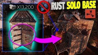 SUPER CHEAP Small SOLO Base Design (NO BP)   Rust Base Building