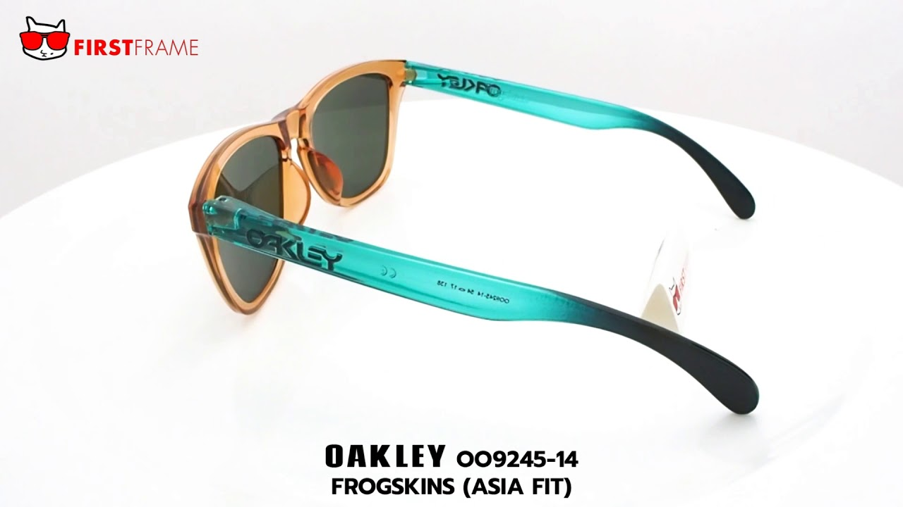 66488c7de2d แว่นกันแดด OAKLEY OO9245-14 FROGSKINS SURF COLLECTION (ASIA FIT ...