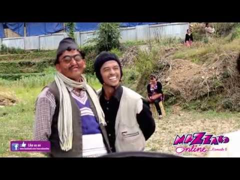 Nepali Comedy TV Serial Merri Bassi Making Video