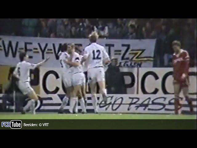1989-1990 - Beker Van België - 02. 16de Finale - Standard - Club Brugge 3-2
