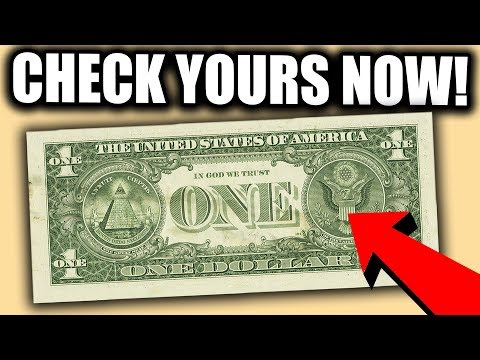 YOUR WALLET COULD HAVE SUPER RARE DOLLAR BILLS WORTH A LOT OF MONEY!!