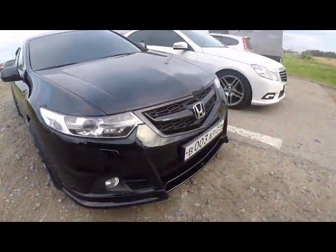 Honda Accord 2.4 200hp Vs Mercedes E200 1.8 Turbo 184hp