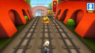 Игра бегать по вагонам