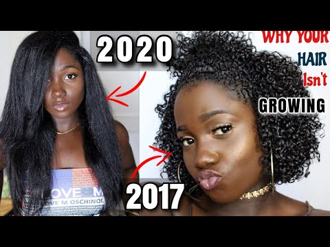 Why Your Natural Hair Isn't Growing|5 REASONS YOUR HAIR ISN'T GROWING! DO THIS FOR FAST HA