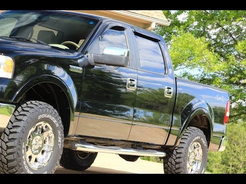 HD VIDEO 2007 FORD F150 LARIAT CREW CAB 4X4 FOR SALE SEE WWW SUNSETMILAN COM