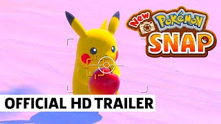 Upcoming Switch Games | New Pokemon Snap - Trailer