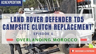 Land Rover Defender 130 campground clutch repair - Top tip! Take the engine out twice 😜