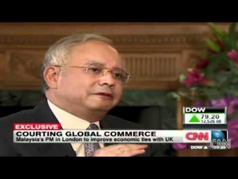 Najib Razak featured on CNN - Exclusive Interview with John Defterios - July 2011