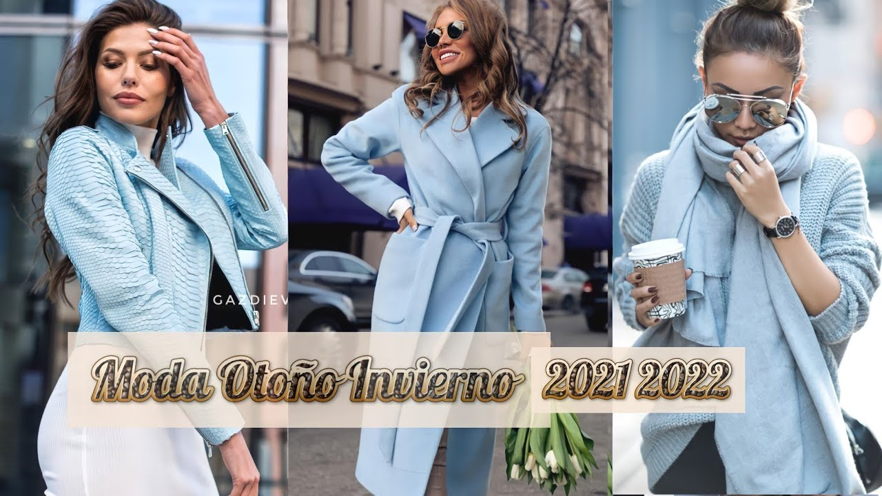 Download TENDENCIAS OTOÑO INVIERNO MUJER 2021/2022 OUTFITS ROPA DE MODA OTOÑO INVIERNO 2021/22/ FALL WINTER