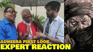 Sanjay Dutt as Adheera in KGF Chapter 2 | EXPERT REACTION | Predicted The Name Accurately