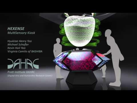 HEXENSE MultiSensory Kiosk Concept