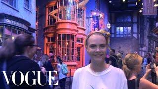 Instagirl: Cara Delevingne Give Us a Tour of Hogwarts - Vogue