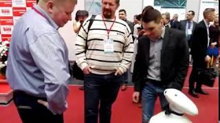 Выставка ''Здравоохранение Беларуси-2018''.Умный робот из планеты Железяка.