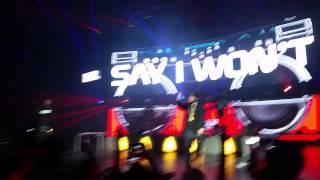 Leceae - Say I Won't (Anomaly tour Miami) 11/14/14