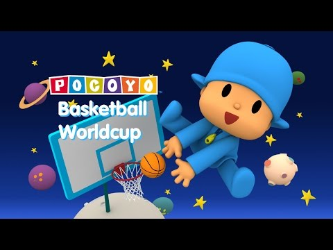 Pocoyo Basketball Worldcup