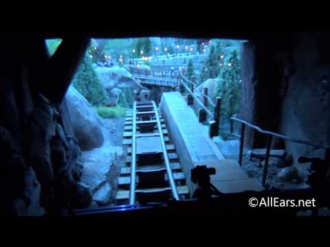 Seven Dwarfs Mine Train Full Ride-Through Video with Spoilers