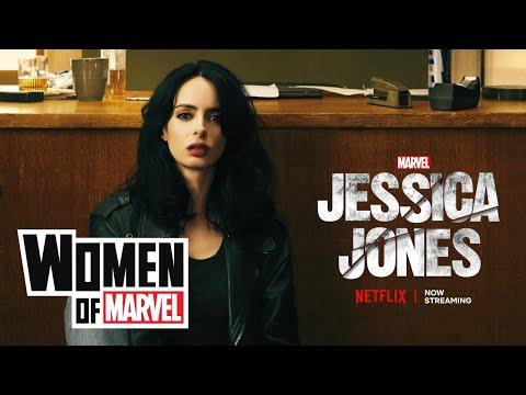 Krysten Ritter of Marvel's Jessica Jones on the Women of Marvel!
