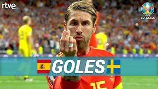 GOLES España 3-0 Suecia | Clasificatorio Eurocopa 2020