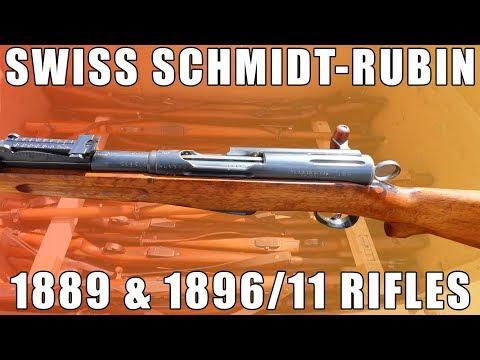 Pick Your Piece Of History: Swiss Schmidt-Rubin Rifles 1889 Or 1896/11
