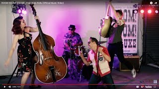 BOOM! BOOM! DELUXE - Everybody Rolls (Official Music Video) New Zealand Neo Rockabilly / Rock n Roll