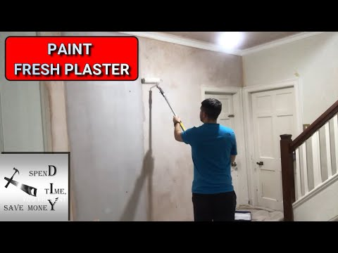 how-to-paint-fresh-plaster-with-a-mist-coat.