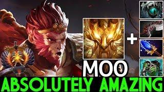 MOO [Monkey King] Absolutely Amazing Plays 74 Min Hard Game 7.23 Dota 2