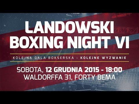 VI Landowski Boxing Night 2015