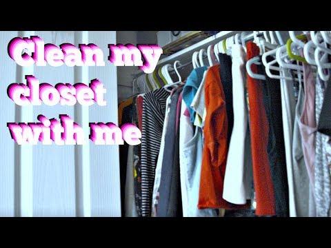 CLEAN MY CLOSET WITH ME PART 2 l Ronnie Katrina