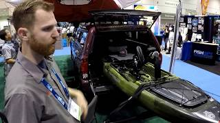 Yakima Longarm Truck Bed Extender at ICAST 2017