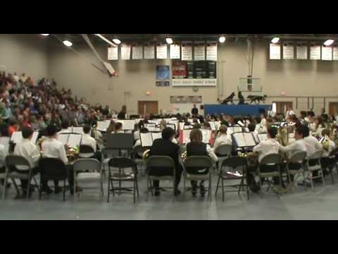 West Valley Middle School 7th Grade Band 2015-16 Spring Concert