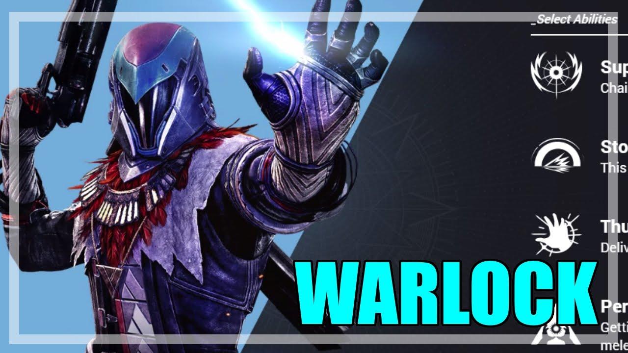 Warlock stormcaller first details breakdown of abilities arc warlock youtube - Warlock stormcaller ...