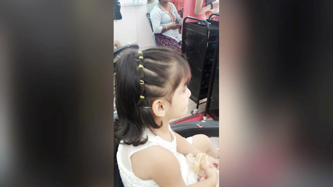 baby angel hair styling 2 year old baby girl