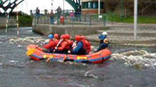 White water rafting with the 'extreme sports club'  - Kirsty's birthday part I