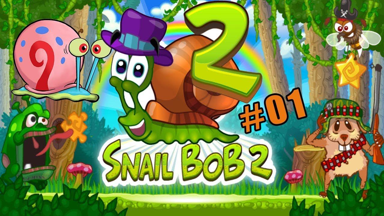 Jugando Con Bob El Caracol 2 Capitulo 1 Juego Para Niños Snail Bob Youtube