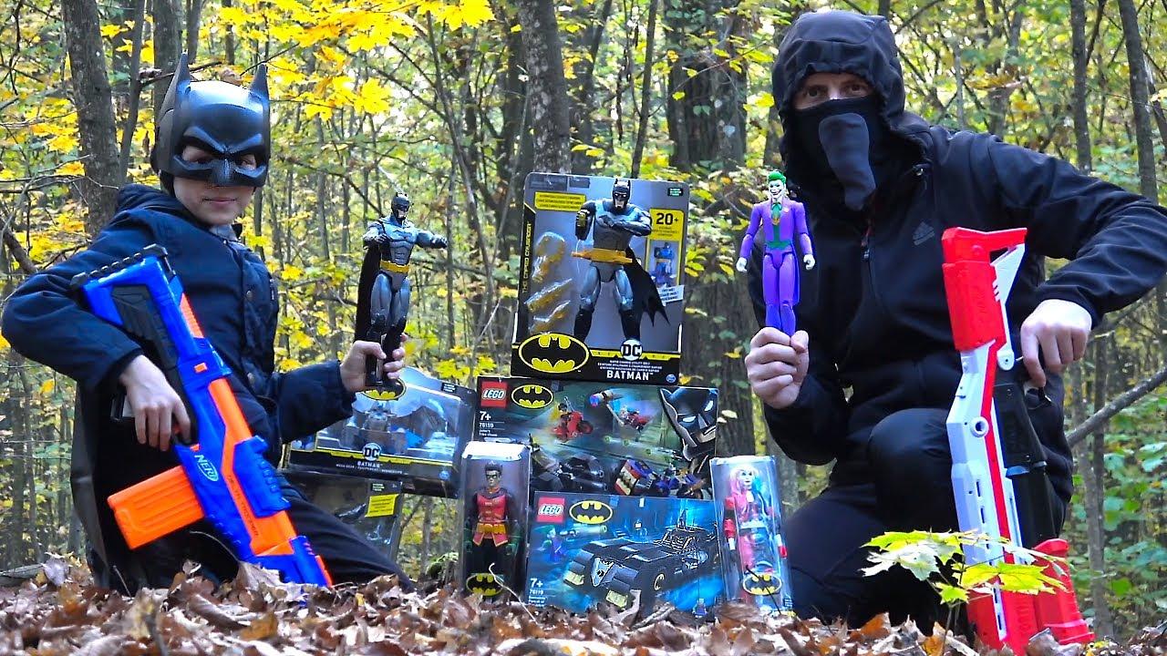 Бэтмен DC - Крутые наборы Batman. Даник спасает Бэтмена и Робина от НЕЗНАКОМЦА в МАСКЕ. 13+