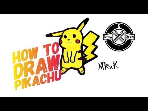 How To Draw Pikachu ( Pokemon )