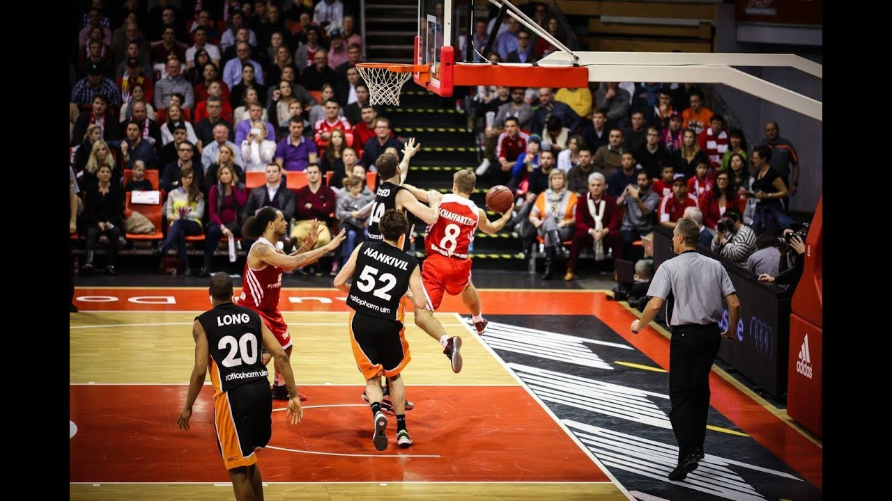 15 spieltag fc bayern basketball vs ratiopharm ulm 87 70 youtube. Black Bedroom Furniture Sets. Home Design Ideas